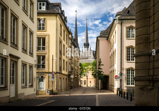 Luxembourg architecture stock photos luxembourg for Caa luxembourg