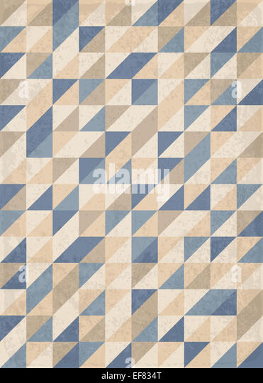 Abstract geometric background with triangles - Stock Image