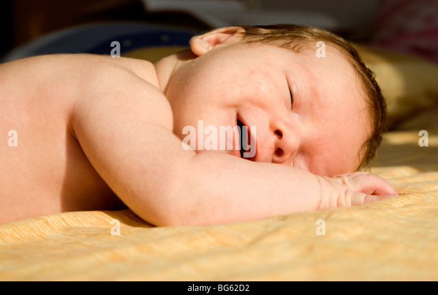 babys dream - Stock Image