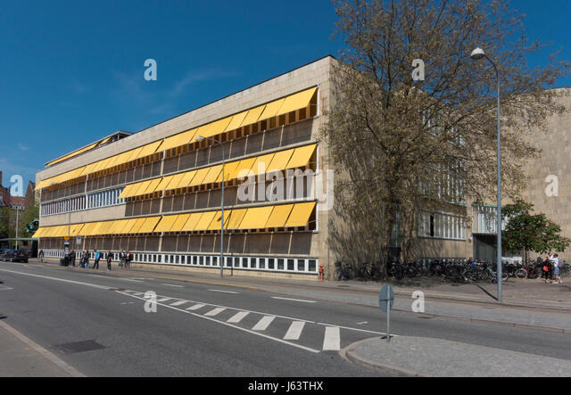 The old Radio House (DR) in Copenhagen, now  housing the Royal Danish Academy of Music. Designed by architect Vilhelm - Stock Image