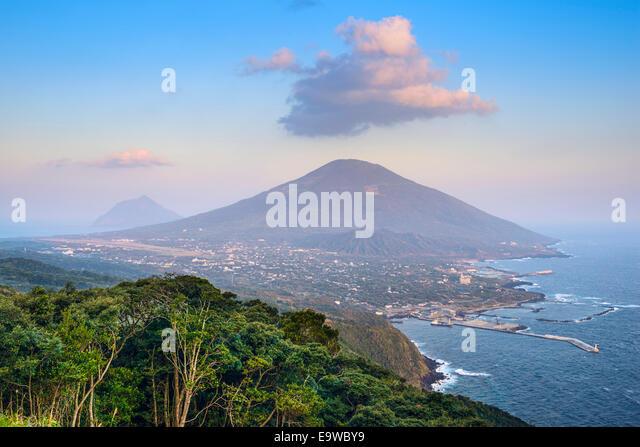 Hachijojima Island, Tokyo, Japan. - Stock Image