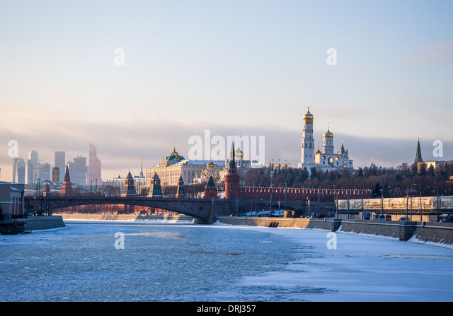 View of Moscow (Russia) - Stock Image
