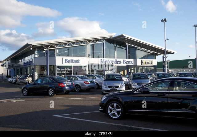 New cars uk stock photos new cars uk stock images alamy for Mercedes benz dealers in michigan