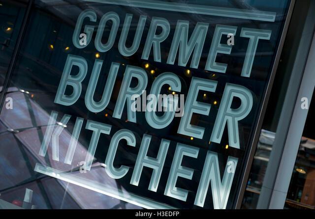 Gourmet Burger Kitchen Menu Bristol