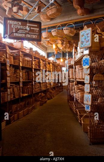 Whicker Factory, Camacha, Madeira - Stock Image