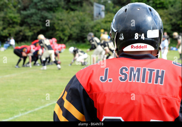 American Football match - Stock Image