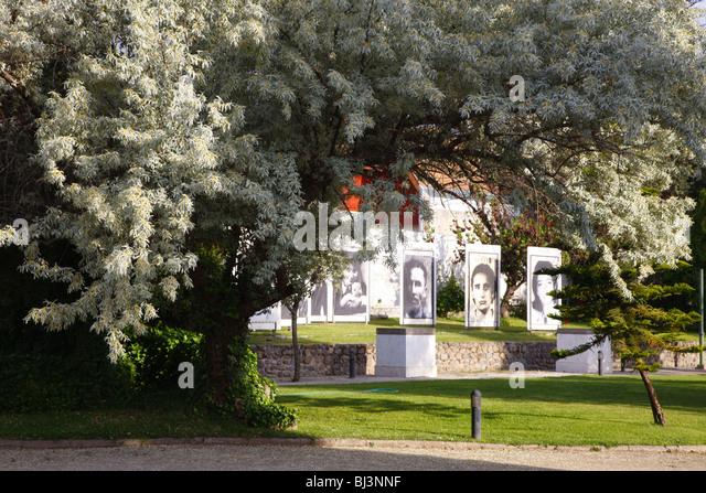 Villa Grimaldi, torture center, memorial, Santiago de Chile, Chile, South America - Stock Image