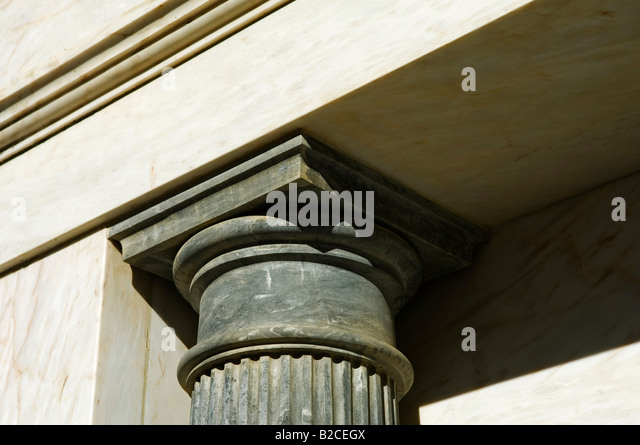 Black Marble Buildings : Black marble base stock photos
