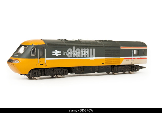 British Rail InterCity 125 model railway locomotive - Stock-Bilder