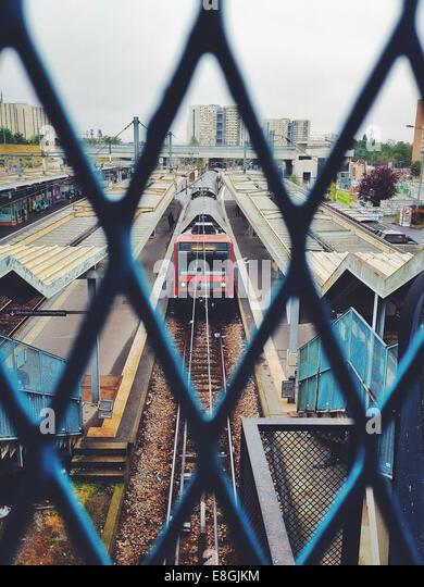 France, Train station - Stock Image