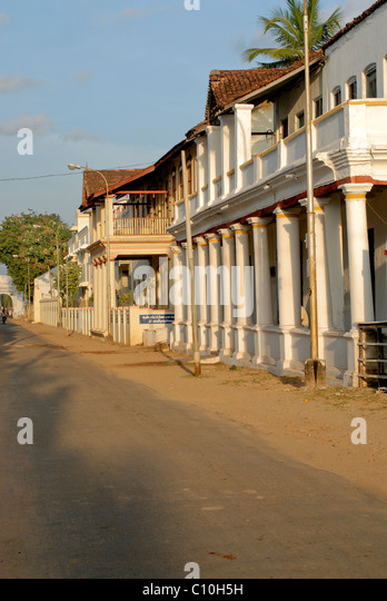 TRANQUEBAR- DANISH COLONY IN INDIA FROM 1620 TO 1845 - Stock-Bilder
