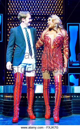 Killian donnelly stock photos killian donnelly stock for Kinky boots cyndi lauper