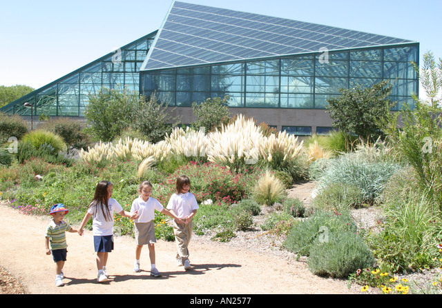 Albuquerque New Mexico Biological Park Mediterranean Conservatory - Stock Image