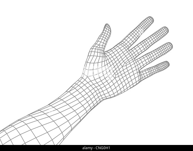 computer wire frame stock photos  u0026 computer wire frame
