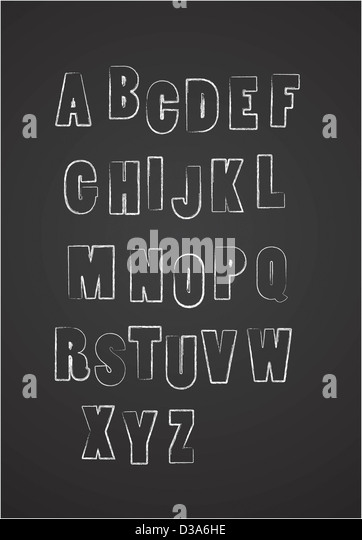 Alphabet - Stock-Bilder