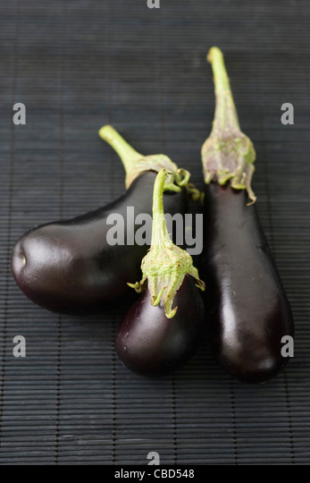 Eggplants - Stock Image