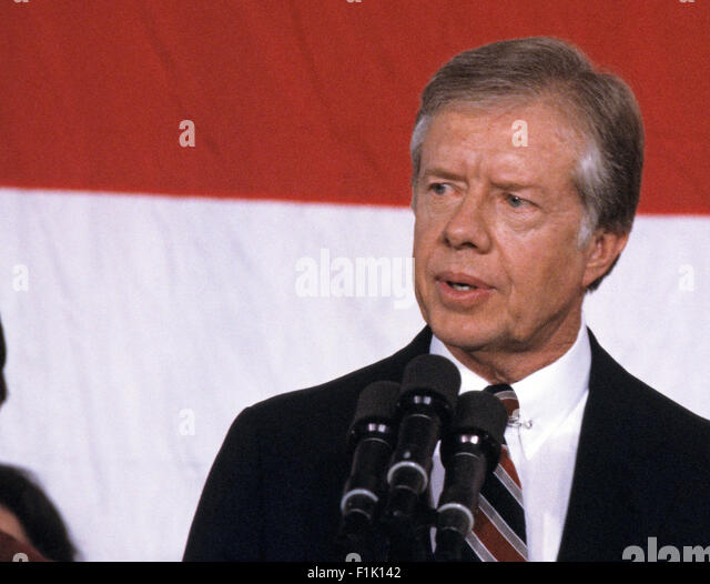 jimmy carter and ronald reagan analysis A rhetorical criticism and analysis of president ronald reagan's inaugural   had been draining power from jimmy carter, as it took.