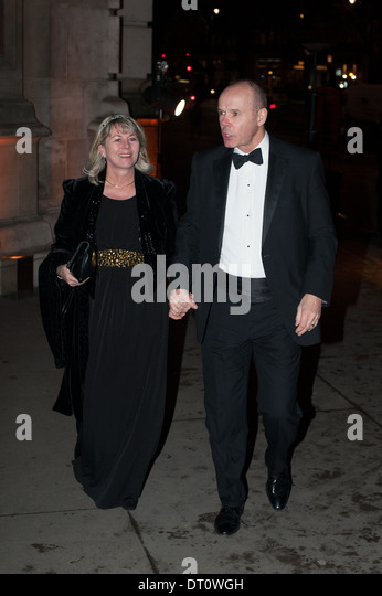 Sir Clive Woodward, Jayne WoodwardBritish Asian Trust - party held at the Victoria and Albert Museum - Arrivals. - Stock-Bilder