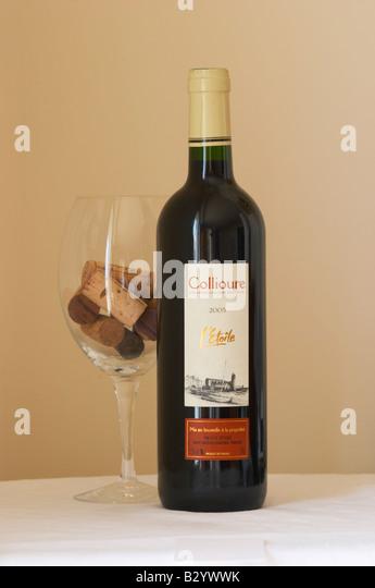 collioure, l'etoile. Roussillon, France - Stock Image