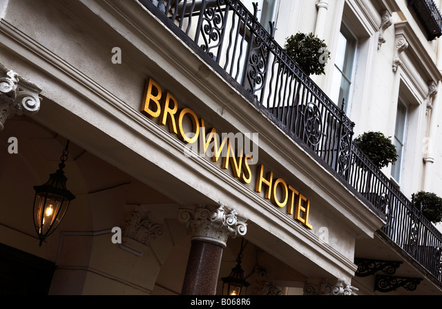 Browns Hotel Dover Street London
