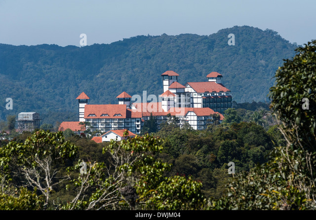 Apartments in the Cameron Highlands, Malaysia - Stock-Bilder