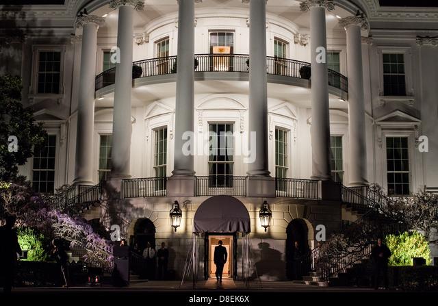 the white house washington d c landmark historic - Stock Image