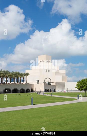 Museum of Islamic Art, Doha, Qatar, Arabian Peninsula - Stock Image
