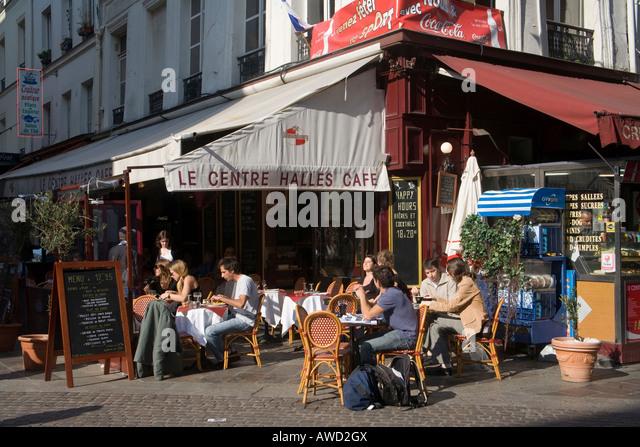 Sidewalk Cafe France Stock Photos amp Sidewalk Cafe France  : sidewalk cafe in the 1 arrondissement paris france europe awd2gx from www.alamy.com size 640 x 447 jpeg 111kB