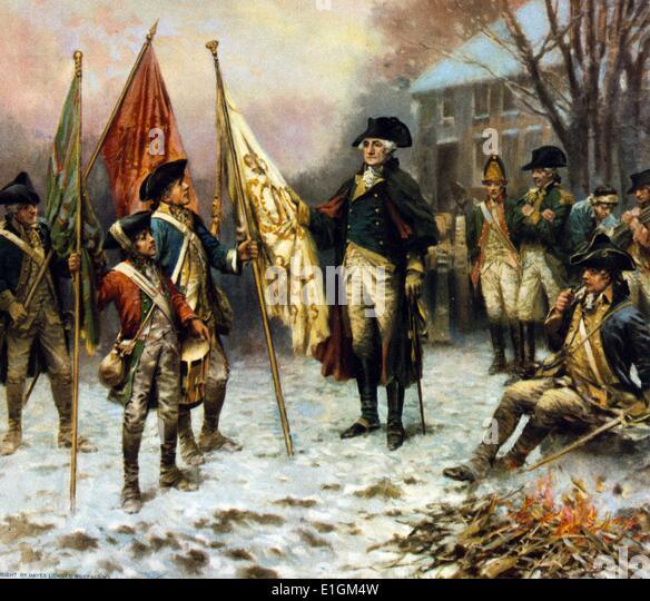 General George Washington - Stock Image