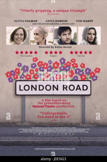 MOVIE POSTER LONDON ROAD (2015) - Stock Image