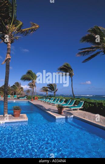 Nisbit Plantation Beach Club Nevis - Stock Image