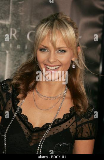 IZABELLA SCORUPCO  Polish film actress in 2009 - Stock-Bilder