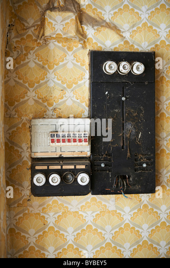 old fuses fuse box stock photos & old fuses fuse box stock ... old fashioned fuse box
