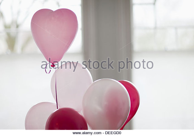 Heart-shape balloon - Stock-Bilder