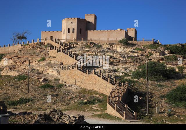 Away from Taqah, southern Oman - Stock Image