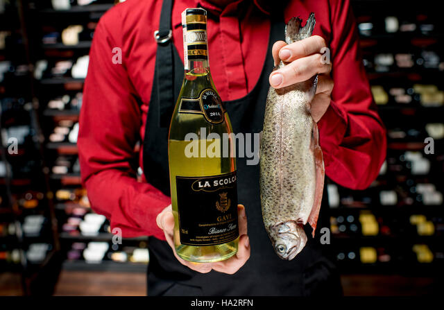 Food shelves restaurant stock photos food shelves for Parlor steak and fish