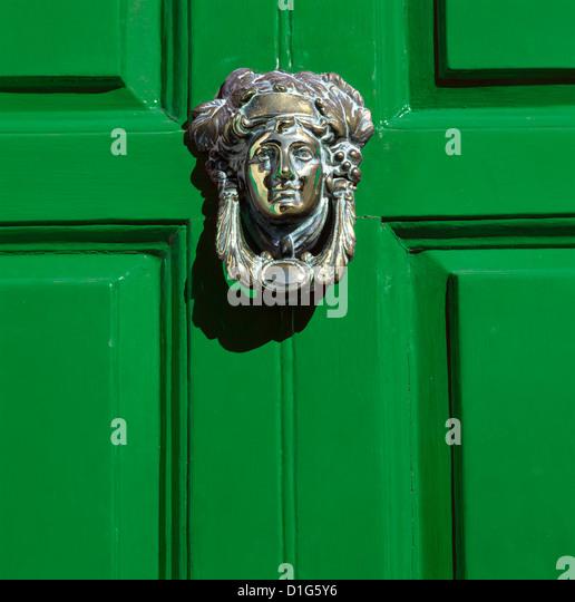 Georgian door, Dublin, County Dublin, Republic of Ireland, Europe - Stock-Bilder