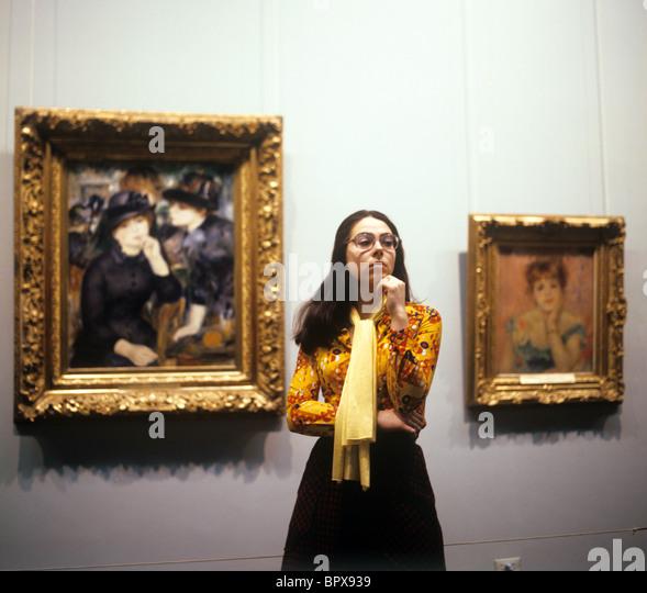 Pushkin Museum of Fine Arts, 1977 - Stock-Bilder