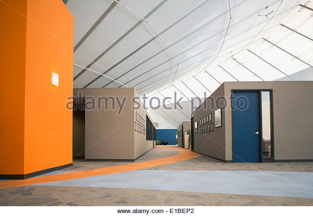 Empty modern office - Stock Image