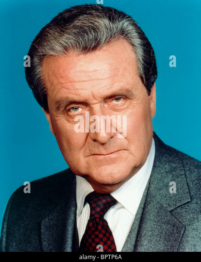 PATRICK MACNEE ACTOR (1985) - Stock Image