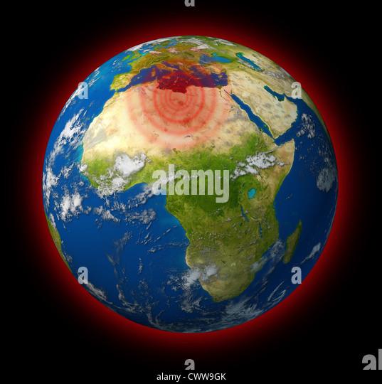 Hot spot on earth