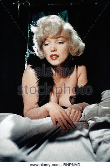 MARILYN MONROE SOME LIKE IT HOT (1959) - Stock Image