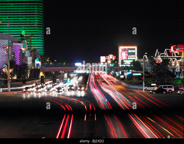 The Vegas Strip - Stock Image