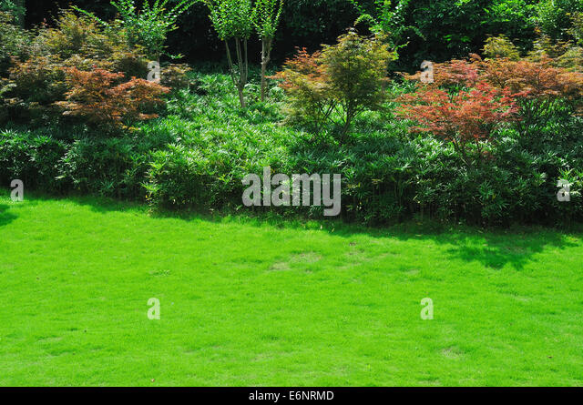 Landscaped Formal Garden Stock Photos Landscaped Formal