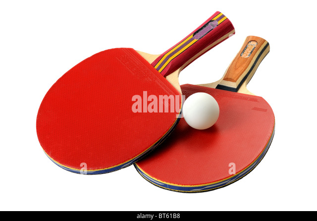 Table Tennis rackets - Stock Image