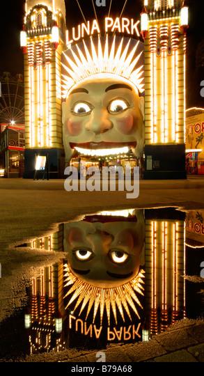 Luna Park, Sydney, Australia - Stock-Bilder