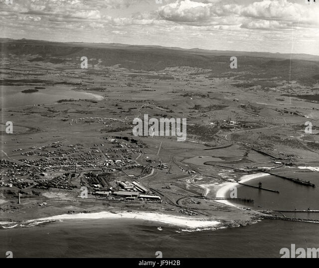 Port Kembla - 1936 29536105653 o - Stock Image
