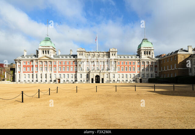 The Admiralty Extension also known as The Old Admiralty Building, Horse Guards Parade, London, England, UK. - Stock Image
