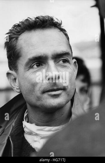 Phil Hill, F1 driver 1960's - Stock Image
