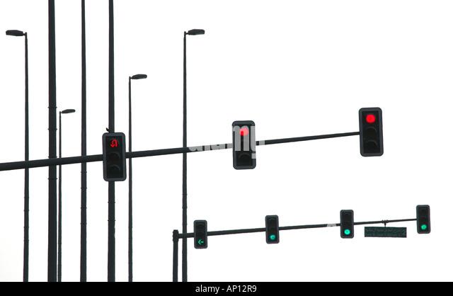 four way traffic light circuit  four  free engine image